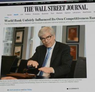 [VIDEO] Chile pedirá explicación en Banco Mundial