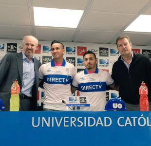 La UC presenta oficialmente a los delanteros Andrés Vilches y Marcos Bolados