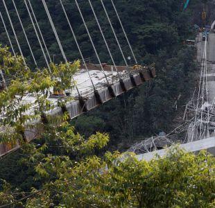 Al menos 10 muertos en Colombia por el colapso de un puente recién inaugurado cerca de Bogotá