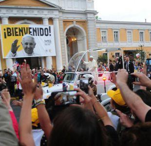 Así fueron las primeras horas del Papa Francisco en Chile