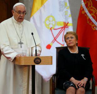 Papa Francisco en La Moneda