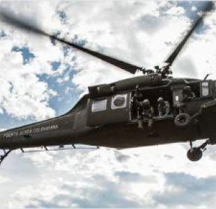 Al menos siete personas mueren en accidente de helicóptero militar en Colombia