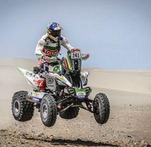 Casale llega tercero en la décima etapa del Dakar y sigue en la cima de la clasificación general