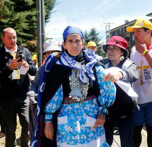 Machi Linconao pide al Papa que intervenga de cara a nuevo juicio por Caso Luchsinger