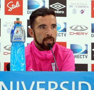"""Cordero quiere revertir la racha: """"Quedamos con la bala pasada de no ganarle un partido a Colo Colo"""""""