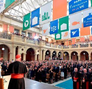 Papa en la Universidad Católica