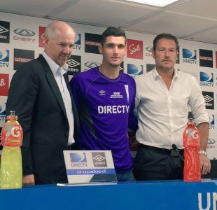"""Matías Dituro y llegada a la UC: """"Estoy muy contento de estar acá, daré lo mejor de mí"""""""