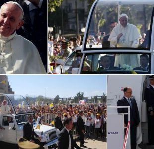 Los momentos que marcaron la visita a Chile del Papa Francisco