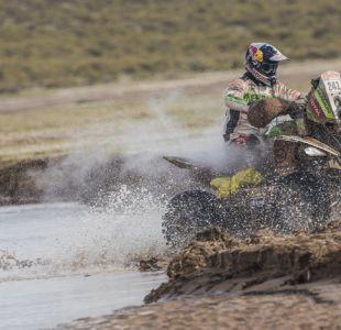 Ignacio Casale llega tercero en penúltima etapa del Dakar y acaricia el título de quads