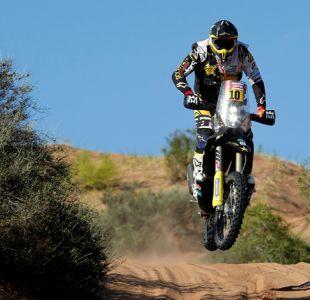 Pablo Quintanilla sube un puesto en la general en penúltima etapa del Dakar