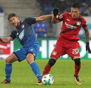 Charles Aránguiz volvió a la titularidad en triunfo del Leverkusen