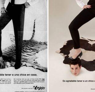 Un fotógrafo cambió los roles de género de los protagonistas de algunas publicidades sexistas