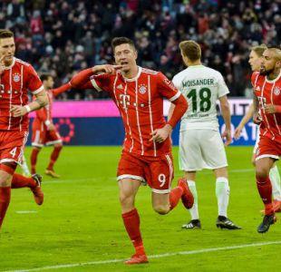 Bayern de Arturo Vidal vence a Werder Bremen