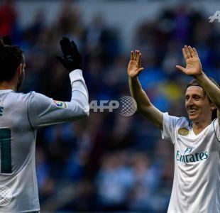 Real Madrid se inyecta una dosis de confianza con goleada