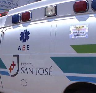 [VIDEO] Ambulancias del Hospital San José están malas y sin revisión técnica