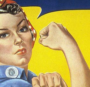 Rosie, la remachadora, quién es la mujer del icónico cartel que es símbolo de fortaleza femenina