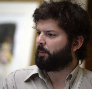 Gabriel Boric por la llegada de Varela a Educación: Piñera ha optado por el conflicto