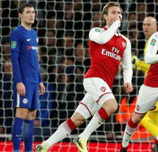 Arsenal derrota al Chelsea  y jugará la final de la Copa de la Liga ante el City de Bravo