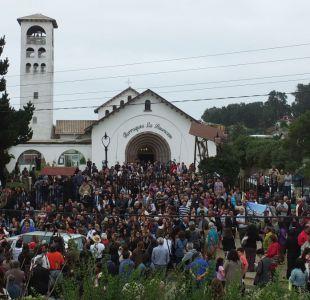 Funeral de Nicanor Parra en Las Cruces