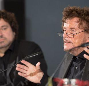 Dieter Wedel (a la derecha)