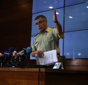 [VIDEO] Fiscalía pide formalización de ex jefe de inteligencia de Carabineros, Gonzalo Blu