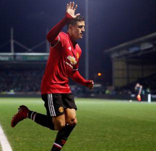 [FOTOS] Todas las imágenes del activo debut de Alexis Sánchez con Manchester United