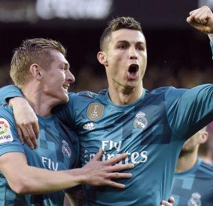 Real Madrid recupera la sonrisa con goleada al Valencia en Mestalla