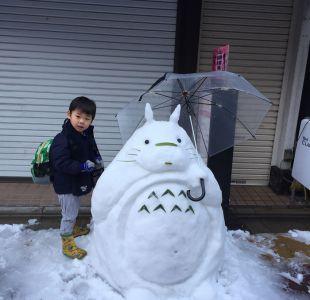 [FOTOS] Las figuras de nieve en Tokyo que sorprenden al mundo