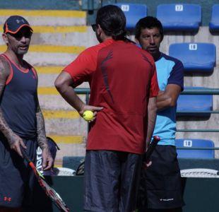 Con Massú y Ríos el equipo chileno inicia los trabajos previos a la serie de Copa Davis