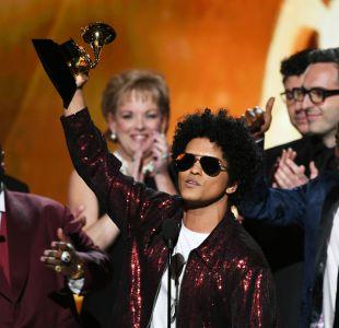 Bruno Mars y Kendrick Lamar se alzan como los grandes ganadores del Grammy 2018