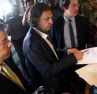 Aníbal Mosa presenta querella en Centro de Justicia por amenazas de muerte