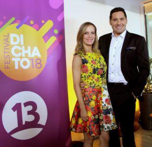 Diana Bolocco y Pancho Saavedra son los animadores de Dichato 2018, la alegría se hace Festival