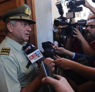 Villalobos sigue al mando de Carabineros y pide esperar la verdad judicial