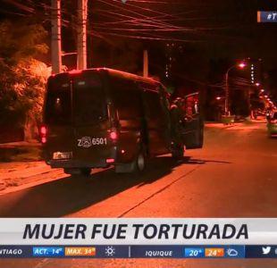 Mujer sufre brutal agresión por parte de su pareja en Santiago