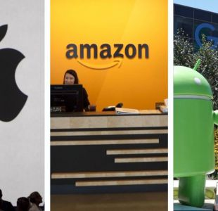 Apple, Amazon y Alphabet compiten en convertirse en la primera empresa valorada en US$1 billón