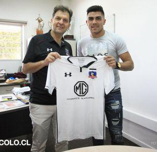 Llega el CTI de César Pinares y queda habilitado para debutar en Colo Colo