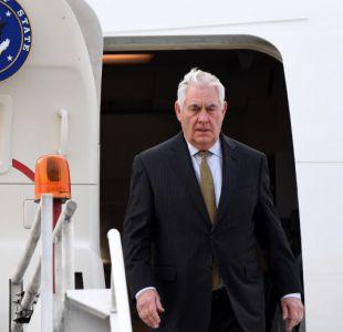 Tillerson viaja a Turquía en un contexto de tensiones por la crisis Siria