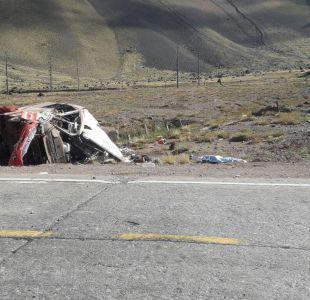 Víctimas fatales y sobrevivientes del accidente en Mendoza llegarán hoy a Chile