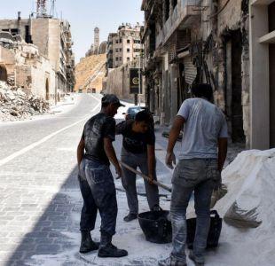 La dolorosa y difícil reconstrucción de la ciudad que encarno la rebelión contra Bashar al Asad