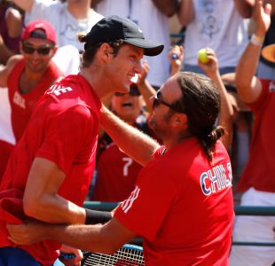Nicolás Jarry le da el punto decisivo a Chile en serie de Copa Davis ante Ecuador