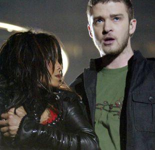Justin Timberlake al Super Bowl 14 años después del controvertido incidente con Janet Jackson