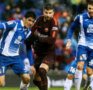 Barcelona pasa susto en empate ante Espanyol en el clásico de Cataluña