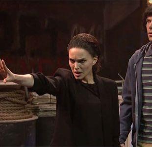 Natalie Portman asume su parecido con Millie Bobby Brown e imita a su personaje en Stranger things