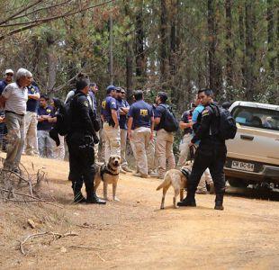 Intenso operativo en Licantén por hombre que huyó de control policial