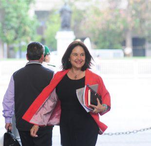 Ministra Castillo figura como beneficiaria de millonario bono