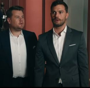 [VIDEO] James Corden seduce a Jamie Dornan en hilarante parodia de 50 sombras de Grey