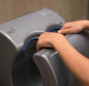 La repugnante foto que te hará pensar dos veces antes de usar los secadores de manos