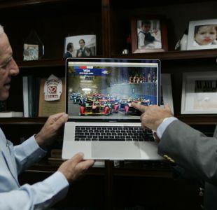 Eliseo Salazar se reúne con el alcalde Andrés Zarhi de Ñuñoa para plantear Fórmula E 2019