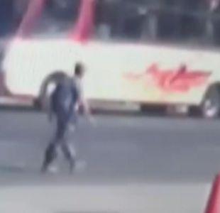 [VIDEO] La última imagen del presunto secuestrador de Emmelyn