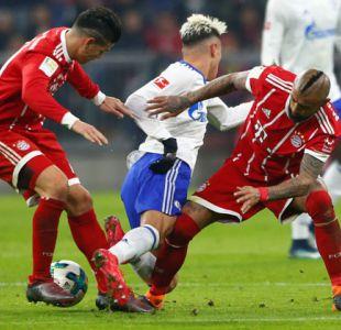 Bayern Munich con Vidal en cancha vence a Schalke 04 por la Bundesliga